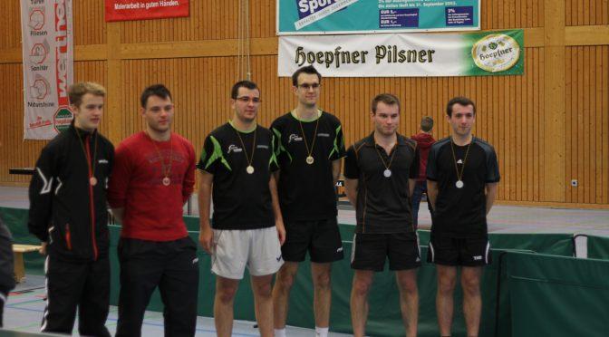 Vier Buchener bei den Baden-Württembergischen Einzelmeisterschaften der Leistungsklasse B