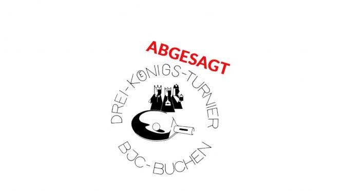 ABSAGE DREIKÖNIGSTURNIER 2021